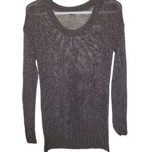 Club Monaco  scoop neck light knit sweater…